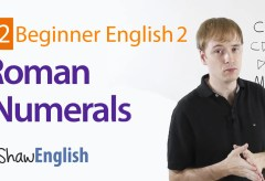 How to Express Roman Numerals in English