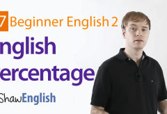 How to Express Percentage in English