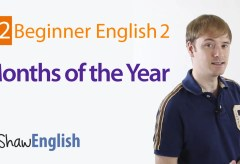Months of the Year in English