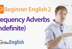 Indefinite Frequency Adverbs