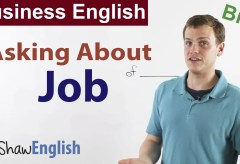 Business English: Asking About Job