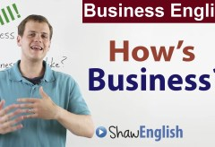 Business Small Talk: How's Business?