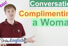 Complimenting A Woman in English