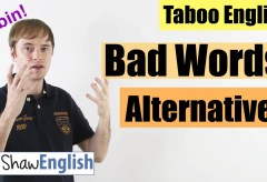 English Bad Word Alternatives