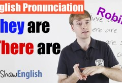 'They are' / 'There are' Pronunciation