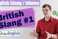 British Slang #1
