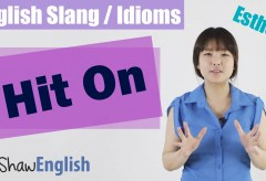 English Slang / Idioms: Hit On