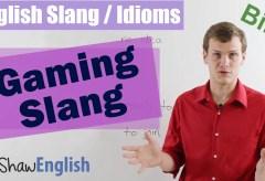 Online Gaming Slang