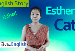 English Story: Esther's Cat
