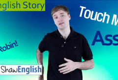 English Story: Touch My Ass
