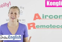 Konglish – Aircon / Remotecon