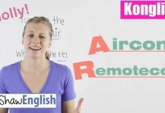Konglish – Aircon / Remotecon