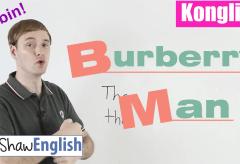 Konglish – Burberry Man