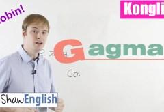 Konglish – Gagman