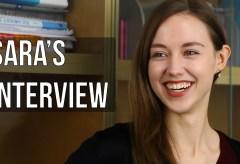 English Teacher Interview | Sara V.