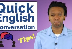 Learn English Conversation   Native Speakers Make English Mistakes, Too