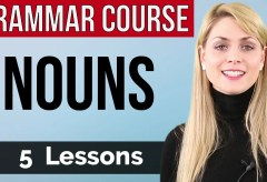 NOUNS | Basic English Grammar Course | 5  lessons