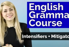 Adjectives #5 | Intensifiers + Mitigators | Basic English Grammar
