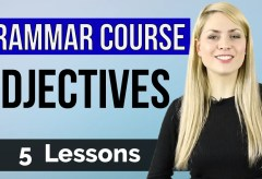 ADJECTIVES | Basic English Grammar Course | 5 Lessons
