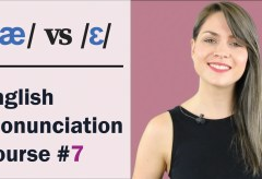 /æ/ vs /e/ | Learn English Pronunciation Course | Minimal Pairs Practice
