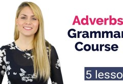 ADVERBS | Basic English Grammar Course | 5 Lessons