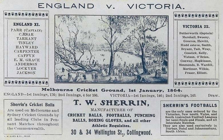 England v. Victoria