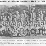 1938 North Melbourne Football Team 1938