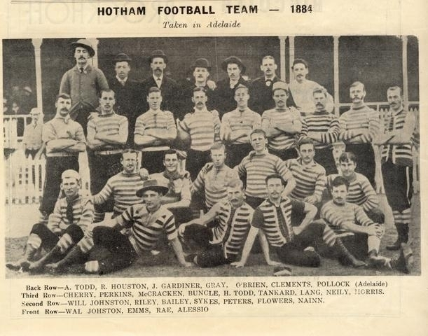 1884 Hotham Football Club