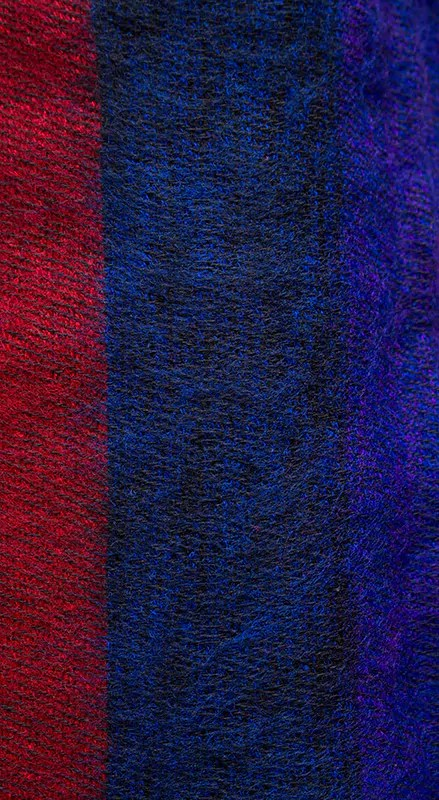 Nepal Deken Rood Blauw Online Bestellen  Shawls4younl