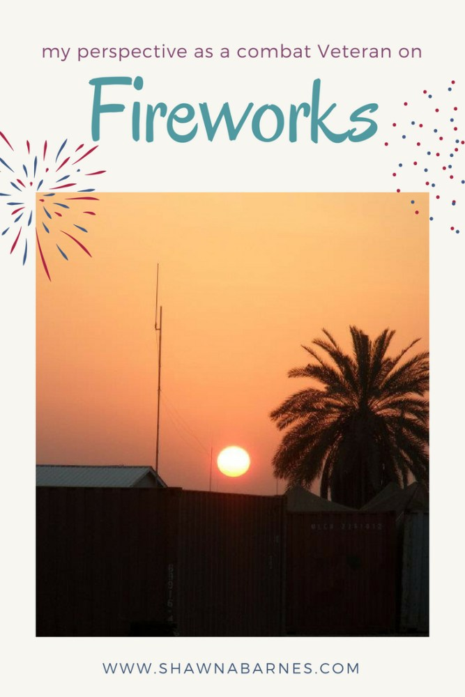 Image of a palm tree and sunset with text overlay. Text overlay is title of the blog post.