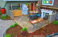Backyard Makeover Garden Potting Room Before and After ...