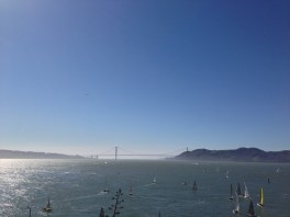 SF Bay and Golden Gate Bridge