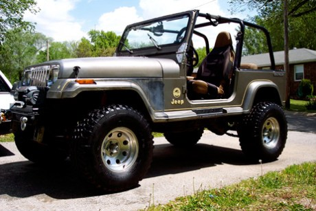 Champ. A 1990 Lifted YJ