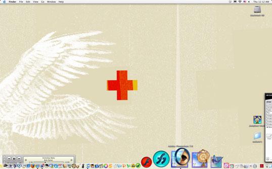 A Screenshot of Dan Pitts' Workstation.