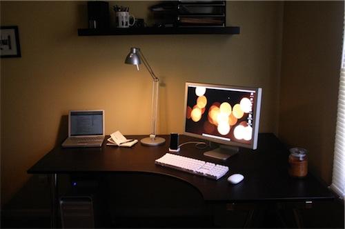 The New Office Setup. Woo Hoo!
