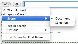 Coda's Search Scope
