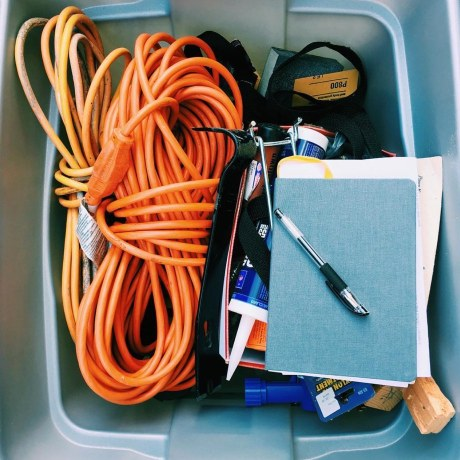 tools, bin, life