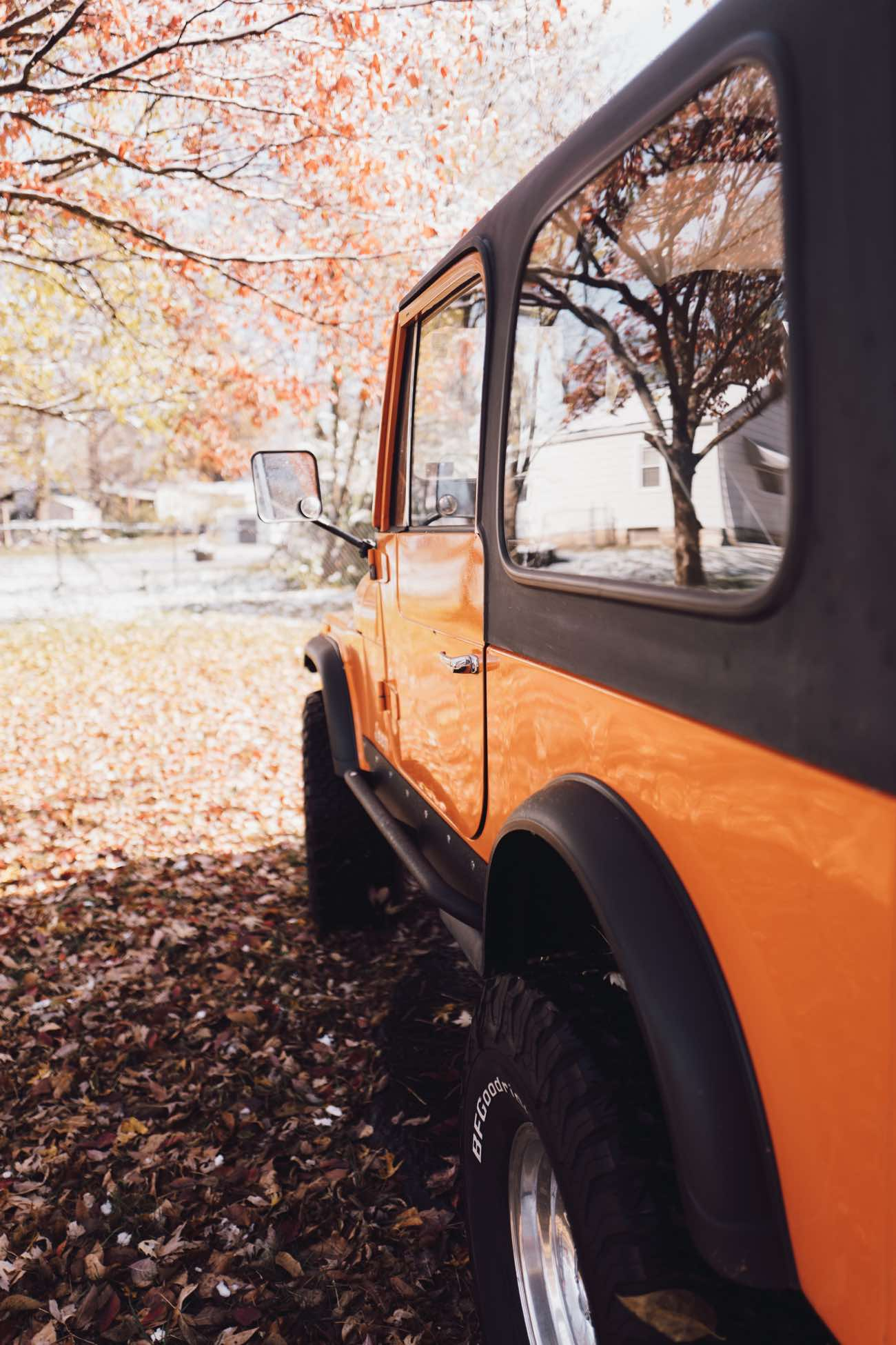 hight resolution of orange jeep cj 7