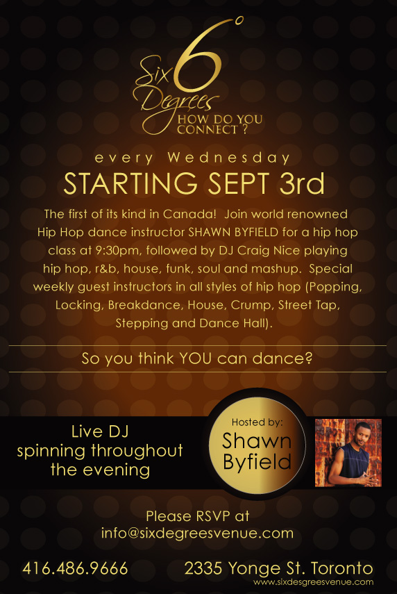So You Think You Can Dance Wednesday Night Classes!