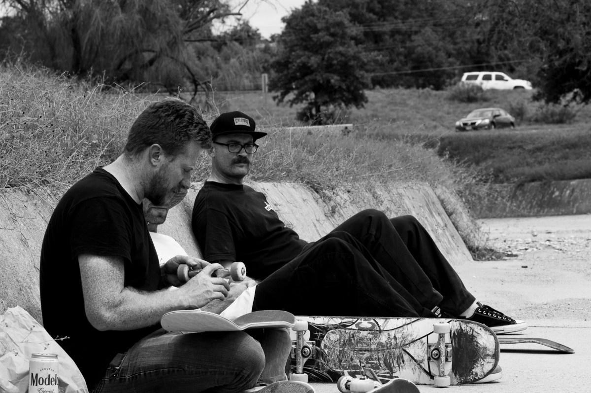 Jason Carter, Jon Erik Palmer and Duncan Ewington - Austin High Ditch