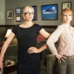 Cameron Diaz and Lucy Punch in Bad Teacher movie image.