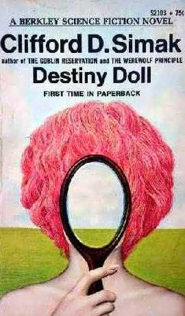 Destiny Doll science fiction paperback book cover