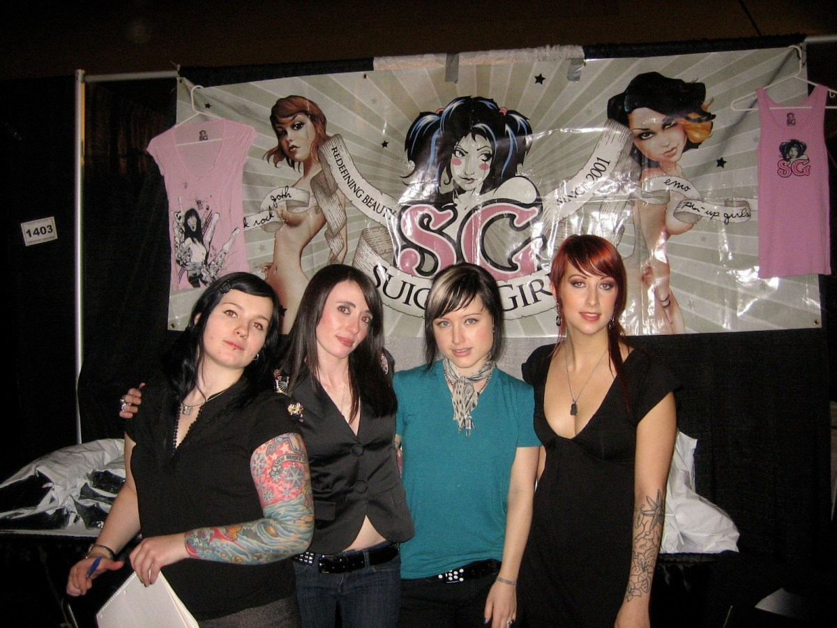 An interview with some Suicide Girls