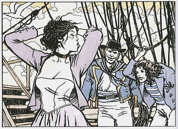 El Gaucho a highlight of Dark Horse's second volume of collected Manara work