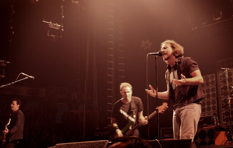 Pearl Jam at Pacific Coliseum, Vancouver, Sept 25.—Ticket Masters book review