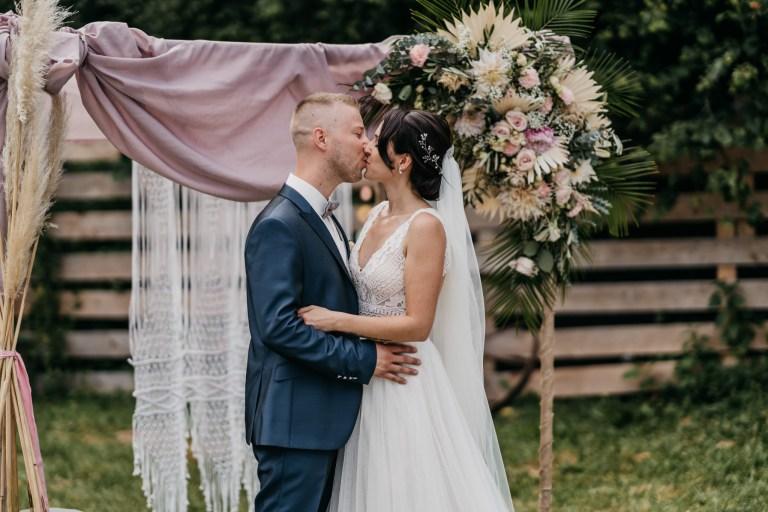Brautpaar-Shooting Vintage Hochzeit
