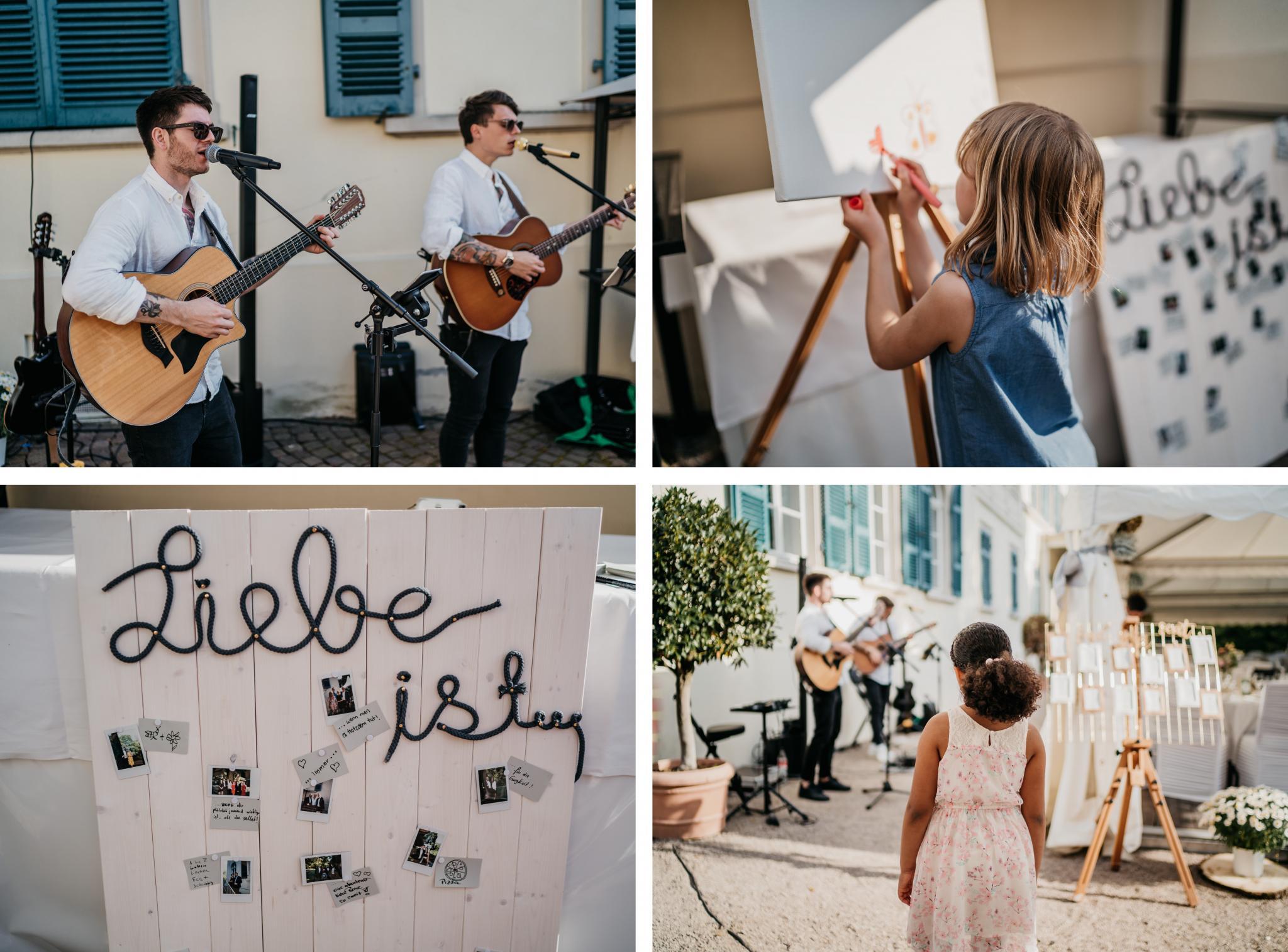 Hochzeit auf Schloss Heiligenberg Acoustic Music