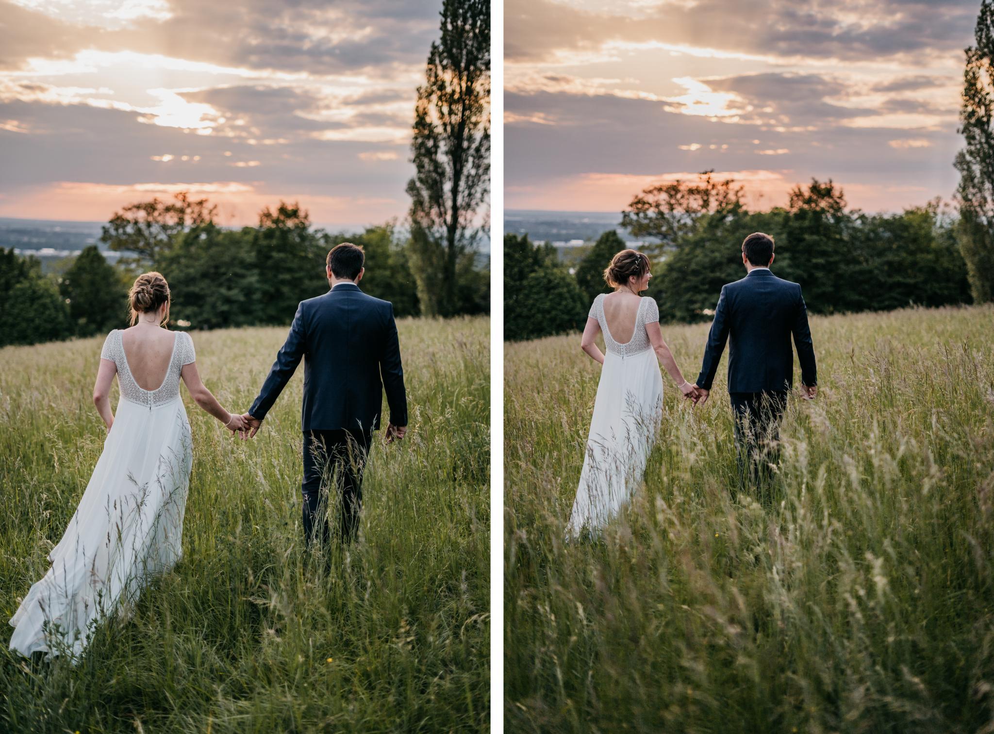 Hochzeit auf Schloss Heiligenberg Sonnenuntergangsshooting