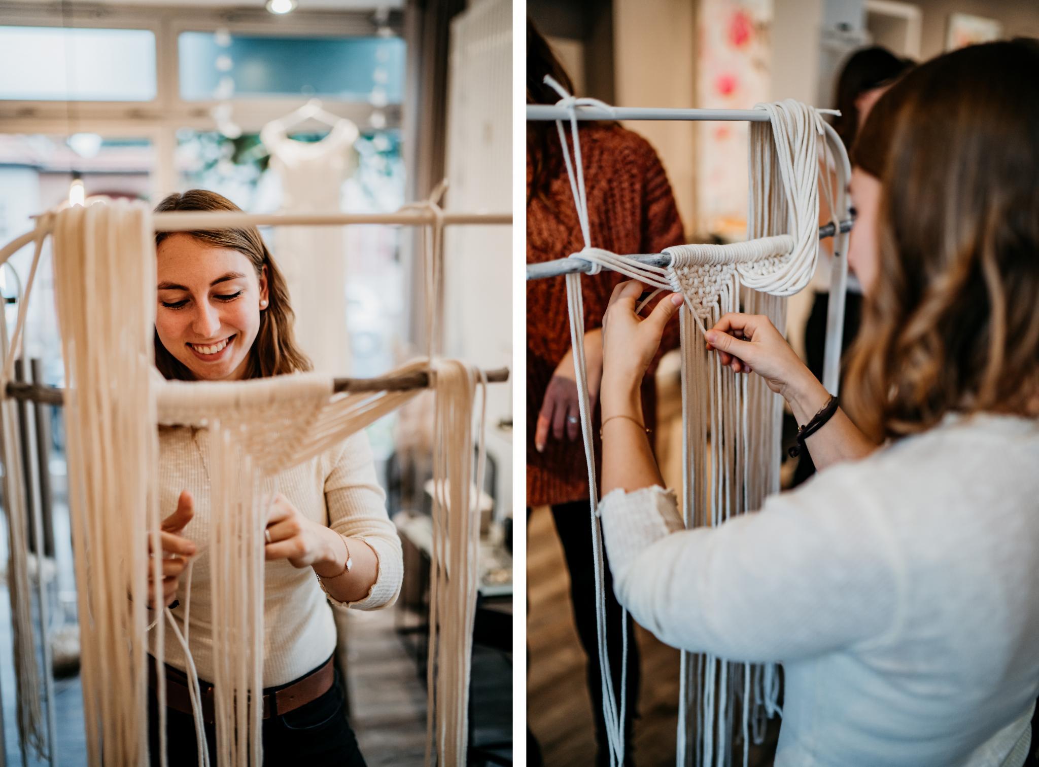 Makramee-Workshop by In-Liebe-Gehüllt Makramee-Wandbehang