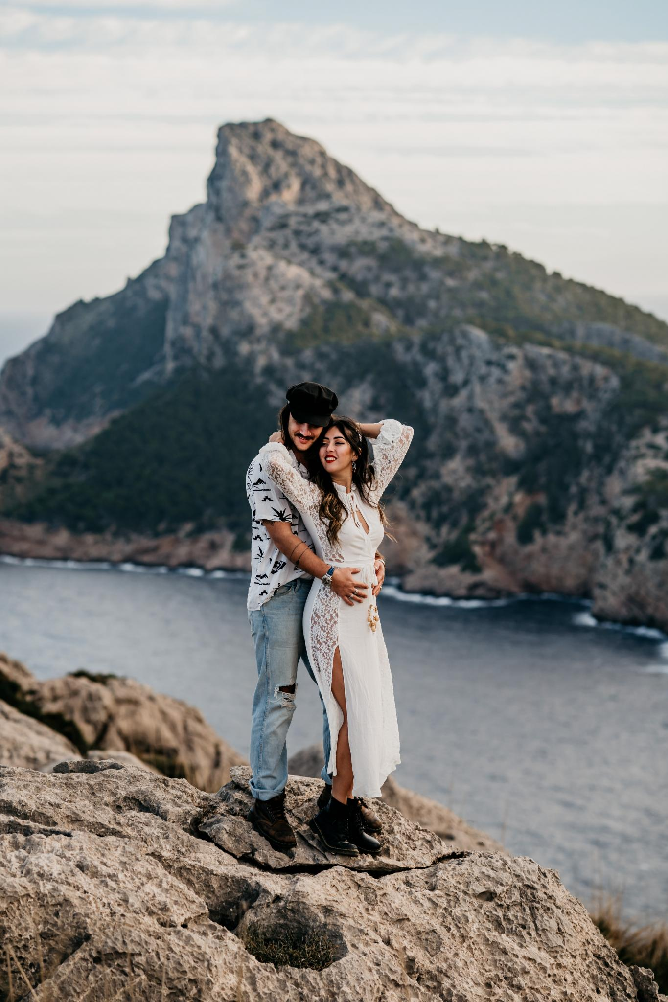Couple Shoot auf Mallorca Cap de Formender